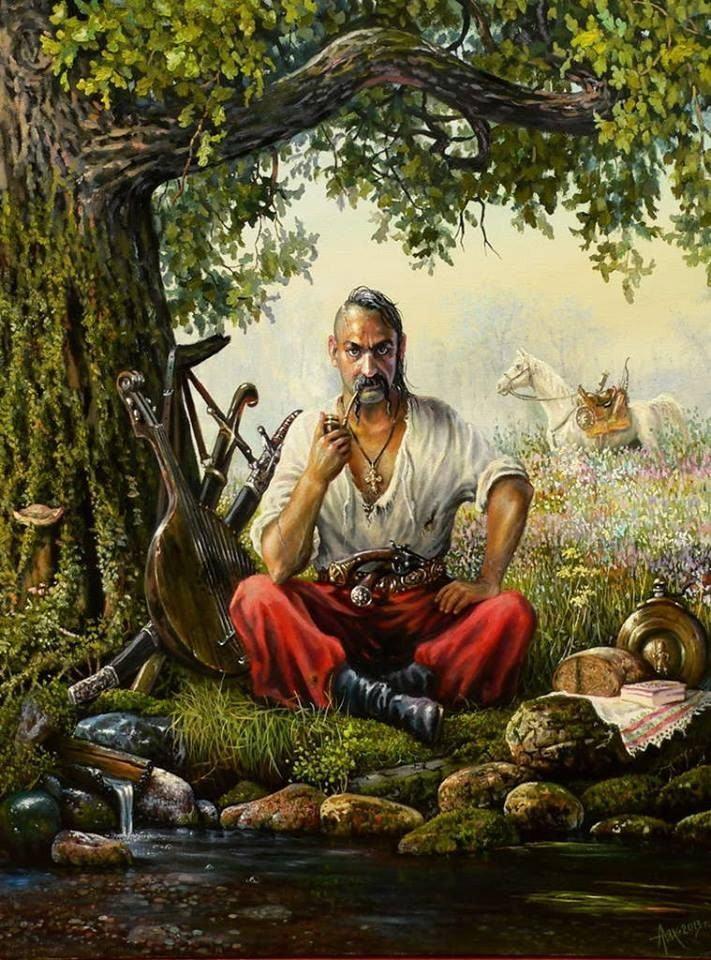 *** Смысл и суть образа Козака Мамая, что он показывает Мужчинам и Женщинам - река - 07 ***