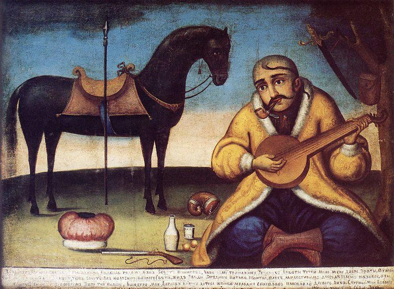 *** Смысл и суть образа Козака Мамая, что он показывает Мужчинам и Женщинам - чёрный конь і бандура - 30 ***