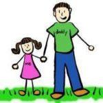 отец-и-дочь, мужчина-и-женщина, муж-и-жена.