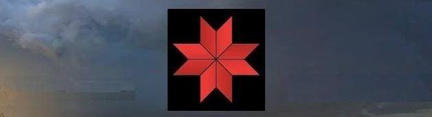 * Козацкий Крест Сварога, Око Рода, 8-лучевой Коловрат Сварога, камень Алатырь (Латырь), 8-лучевая Роза (Звезда) *