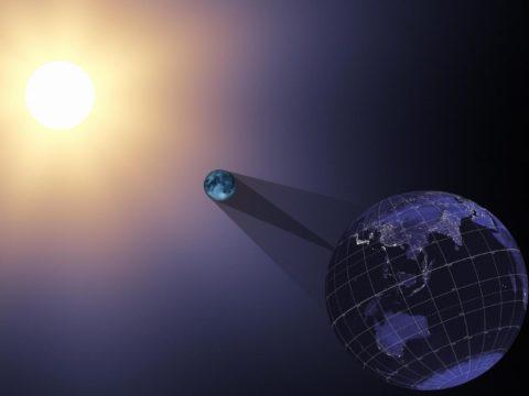**☀ Солнечное и Лунное затмение | Solar n Lunar Eclipse | Sun-Moon-Earth | июль-август 2018 год ☀**